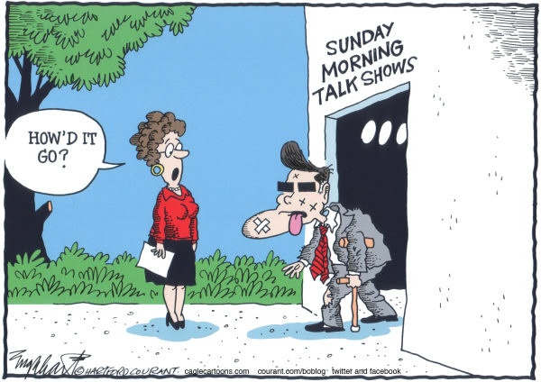 Mitt Romney - Sunday morning talk shows