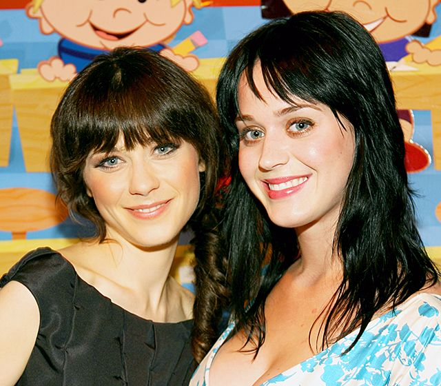 Celebrity Look-Alikes - Seeing double? Even the Hollywood elite have doppelgängers!  Zooey Deschanel and Katy Perry