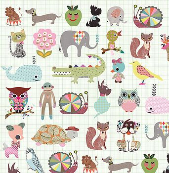 Pets wrapping paper by Petra Boase