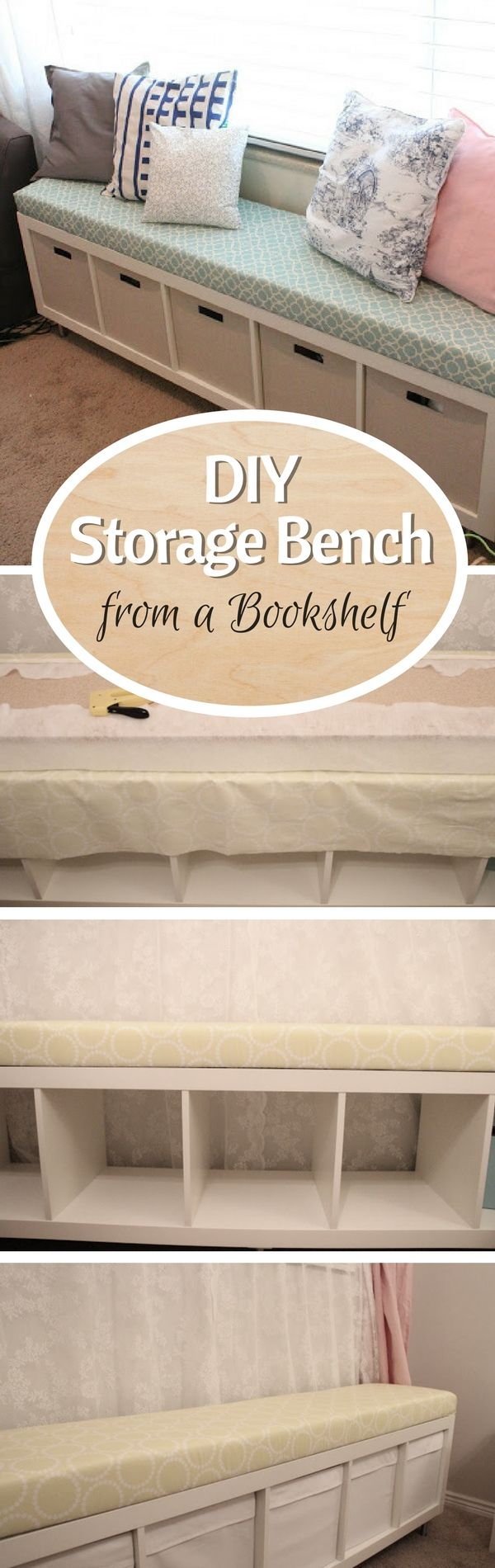 Bedroom benches with storage - 15 Easy Diy Storage Furniture Projects You Should Build Yourself