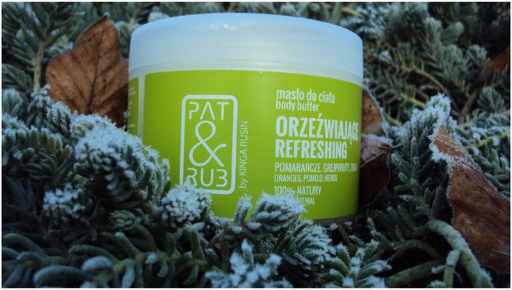 Masło do odżywczej i regenerującej pielęgnacji skóry ciała, od stóp do dekoltu. Pomarańcze, Grejpfruty, Zioła