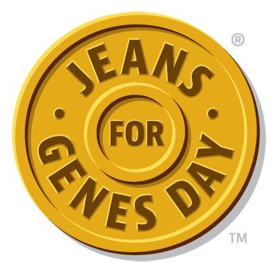 Jeans for Genes Day webshop - buy your t-shirt today
