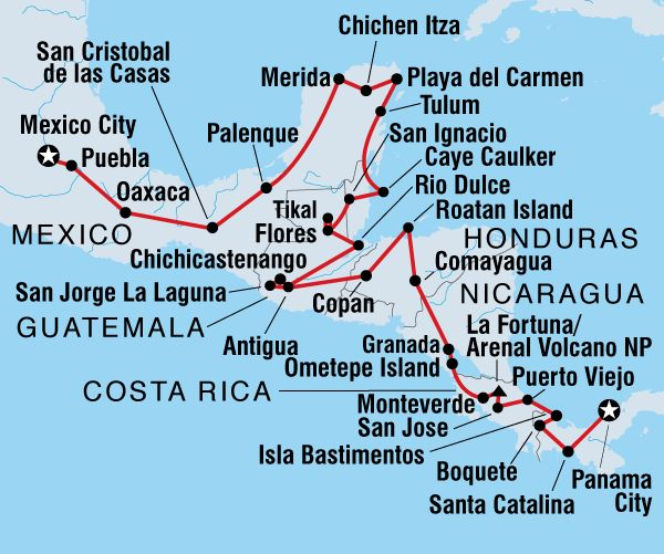 Ultimate Central America - Itinerary Ideas