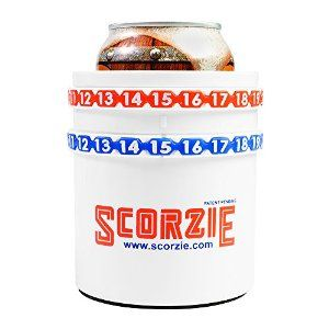 Scorzie Score-Keeping Beer Koozie - Keep score of your favorite drinking game with this cool beer koozie.