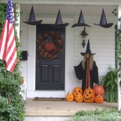 143 best front porch decor halloween images on pinterest halloween ideas happy halloween and halloween stuff