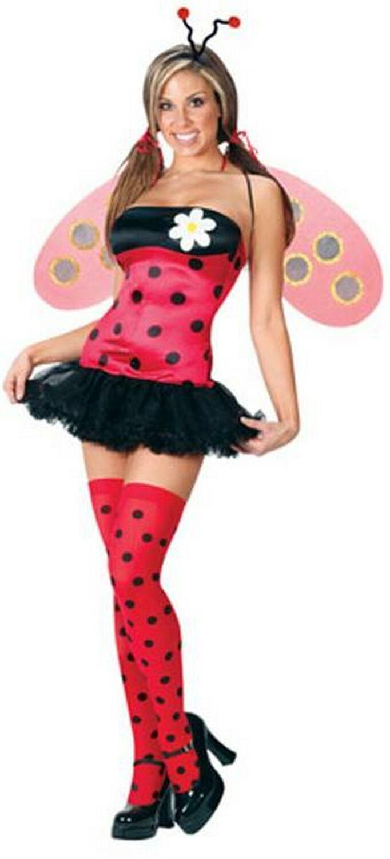 Adult Ladybug Costume  Women Hellowen Costumes  Ladybug -8589