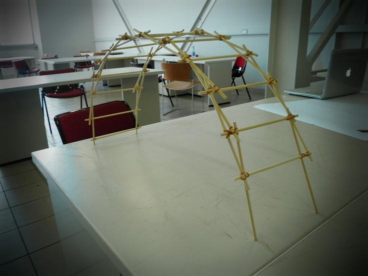 modello di ponte reciproco (o ponte di Leonardo)