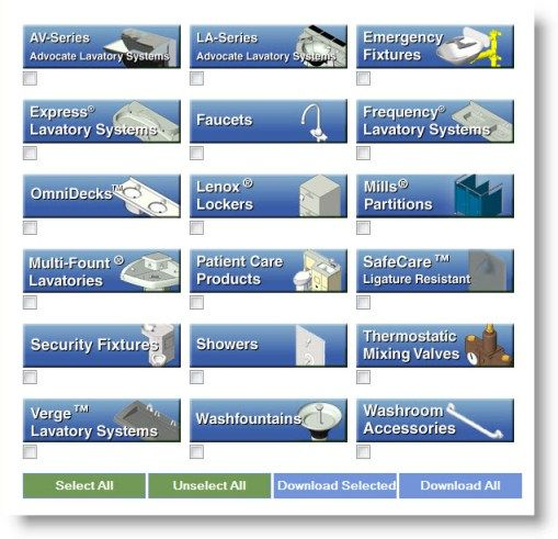 Download Free Bradley Revit BIM Library | 1000 Revit Family Models