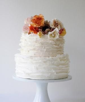 Real flowers or sugar ones? On a budget? How to go big with a small cake. All of your wedding cake questions solved.