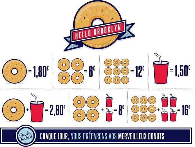 tarifs donuts