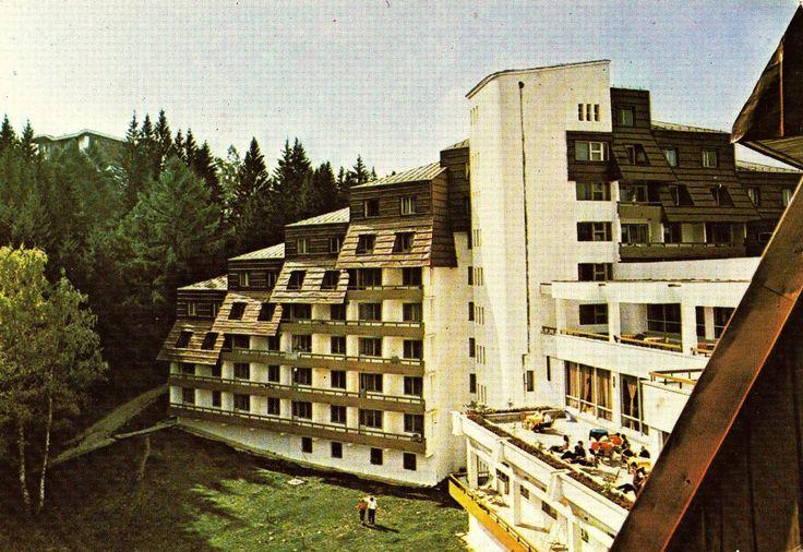 Hotel Ciucas, Poiana Brasov, anii '70.