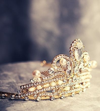 Every Girl should wear a Tiara at least once in their life.....