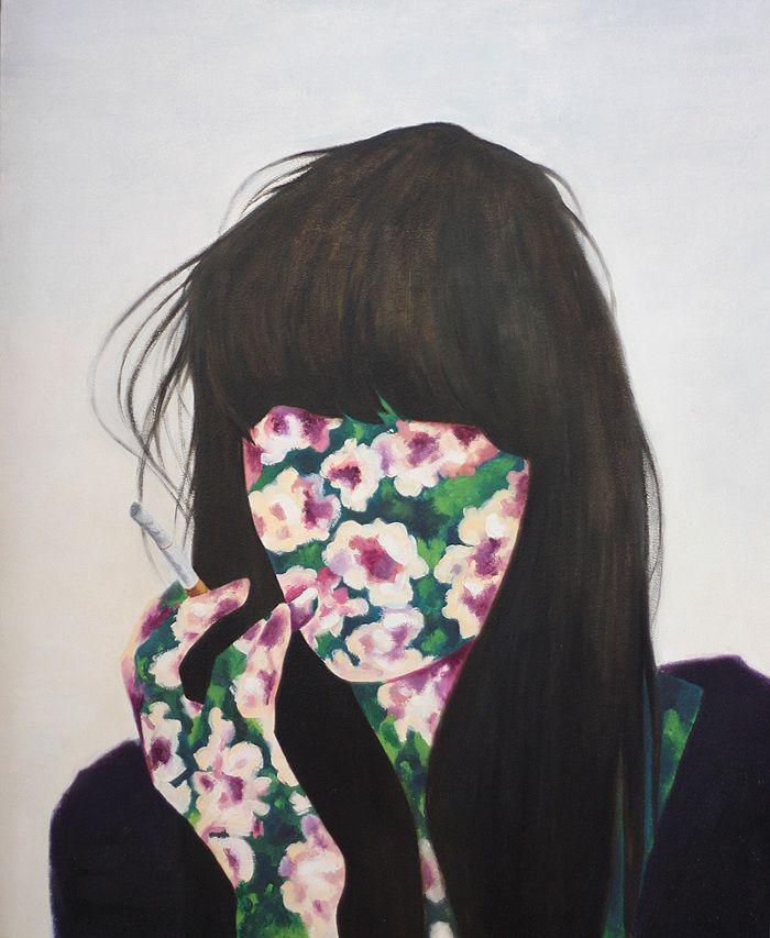 Marina Esmeraldo hace de tu rostro un jardín surreal.