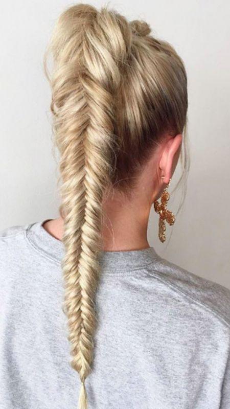 #Neue Frisuren 2018 5-Minuten-Hochsteckfrisur Frisur Ideen  #Haarschnitte #Neu #…