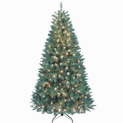 Tree Pre Lit Pine Point Kurt Alder 7 Feet Christmas Artificial Decor Holiday NEW #TreePreLits