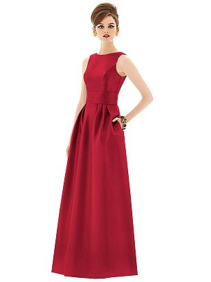 199 Best Images About Red Bridesmaid Dresses On Pinterest