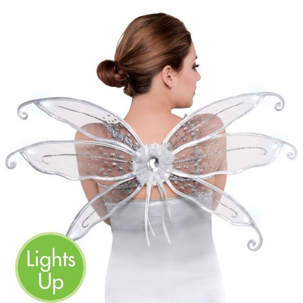Light-Up Mini Butterfly Wings for my tooth fairy costume ...