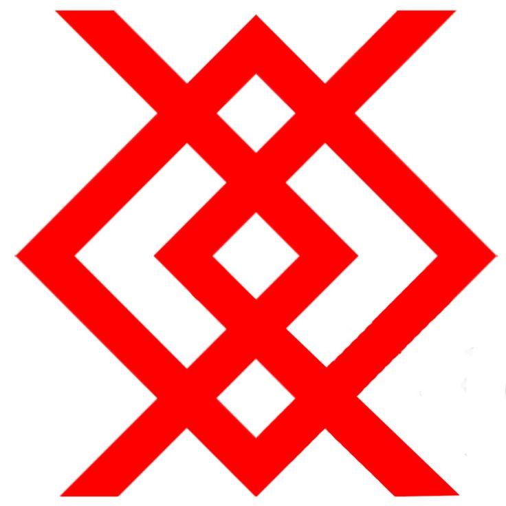 Rus Tunic Trim Idea Kupala symbol