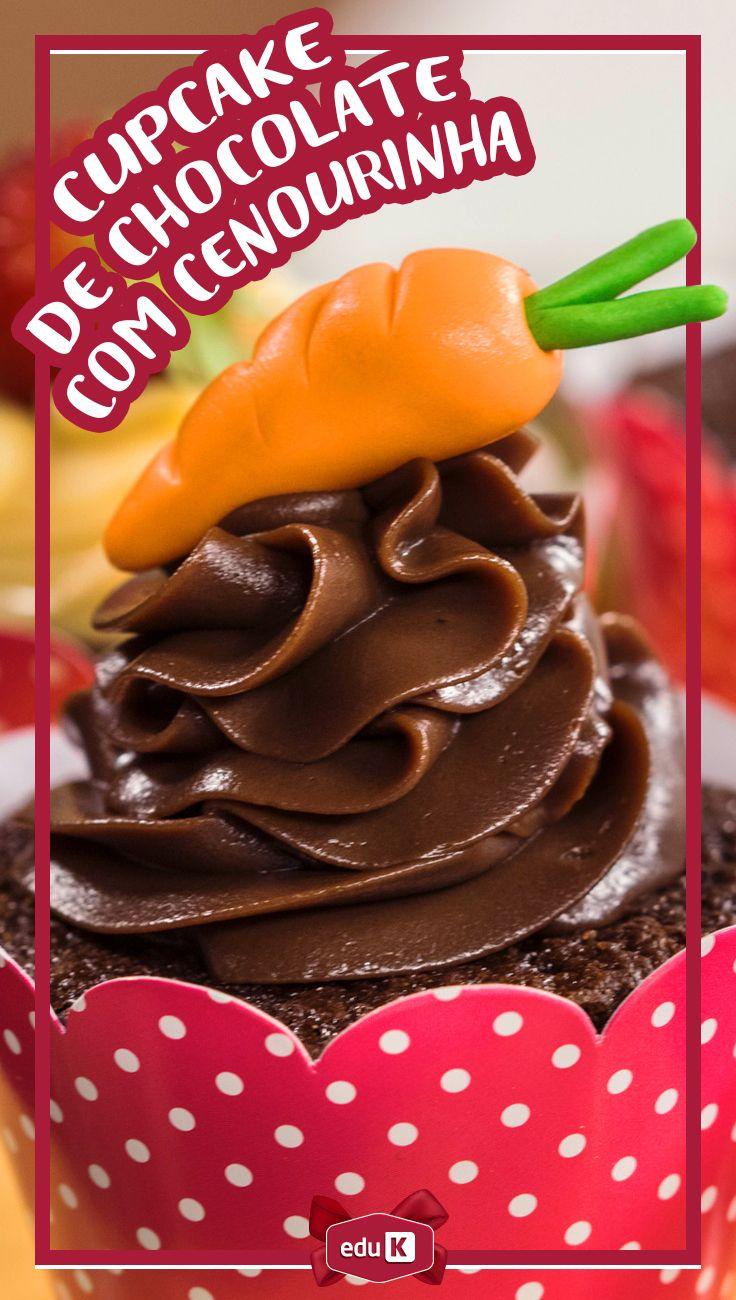 Vem inovar nesta Páscoa com cupcakes deliciosos e diferentes! Clique na imagem e aprenda com a gente inúmeras receitas sucesso de vendas ;)