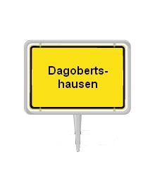 Dagobertshausen:  Nichts mit Panzerknacker und Onkel Dagobert. Der Ort wurde nach dem König Dagobert I benannt.