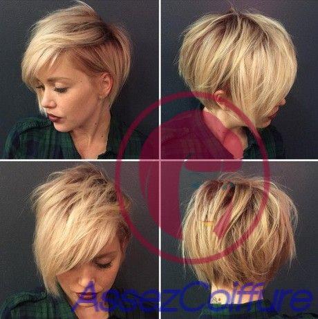 Photos de coupes de cheveux courts 2016 - Coiffures élégantes et modernes