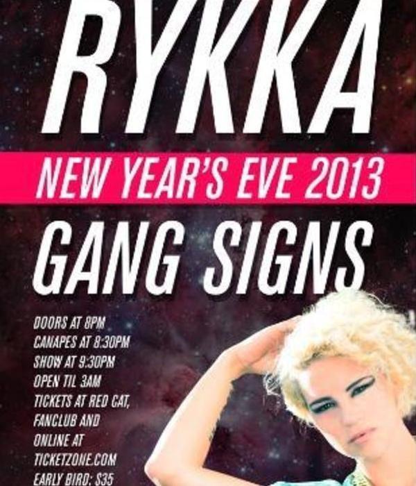 NYE WITH RYKKA + GANG SIGNS
