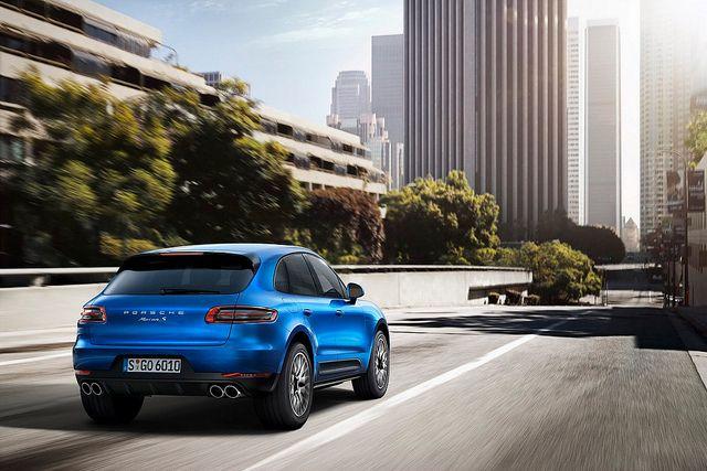 Porsche Macan 2014. službene