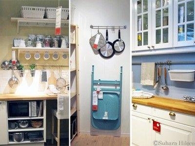 IKEAでキッチンの使い勝手を200%アップする収納術|All About(オール ... 壁面を活用して、キッチンツールをスッキリ収納