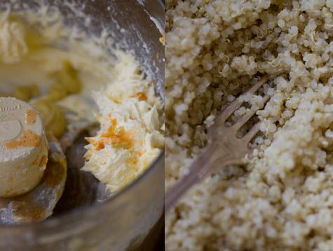 Tabasco asparagus quinoa. I was skeptical but it is really quite ...