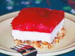 strawberry pretzel jello dessert paula deen | Recipes From The Heart Of
