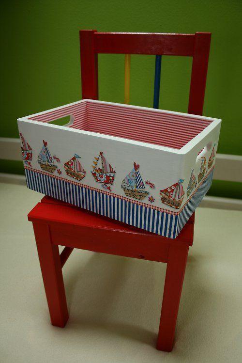 Caja juguetes infantil niños