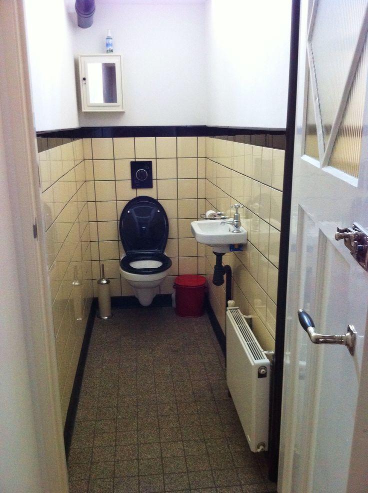 Jaren 30 renovatie toilet