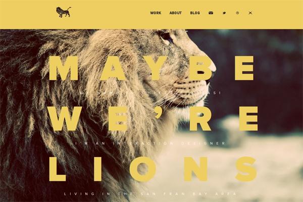 100 Smashing Websites with Full Size Image Background | Design Web Kit