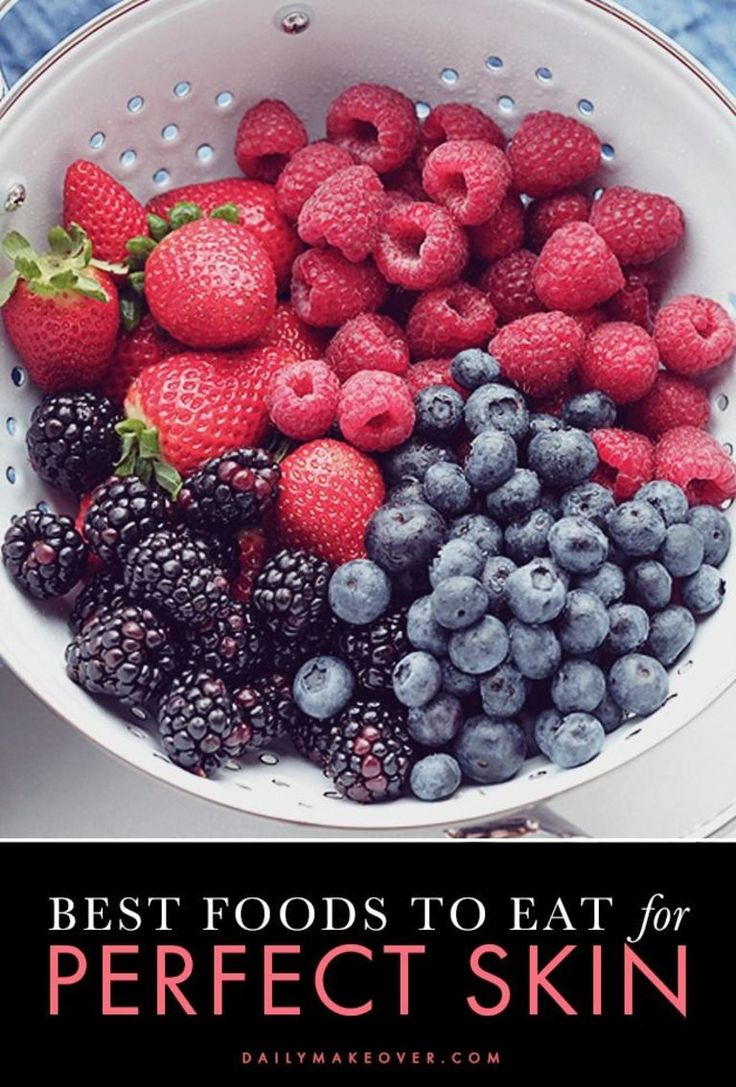 clear skin tips - the best foods to eat for perfect skin