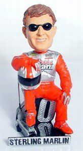 Sterling Marlin NASCAR Sterling Marlin Driver Suit Sitting Pose Forever Collectibles Bobble Head by Caseys. $24.99. These are hand crafted and highly detailed collectible bobble head dolls. The Legends of the Field line commemorates the most skilled & brightest stars of the NFL. These bobble heads display the emotion & intricacies of the individual players they. Save 47%!