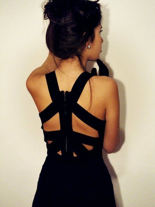 : Cutout, Sexy Back, Back Dresses, Fashion Clothing, Peace Signs, Little Black Dresses, The Dresses, Cut Outs, Back Details