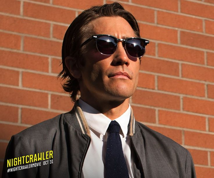 Jake Gyllenhaal - Nightcrawler (2014) This was a great, under-rated film!!