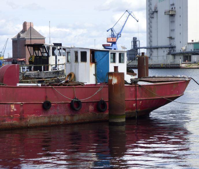 alter Kahn, Museumshafen Flensburg - Foto: S. Hopp