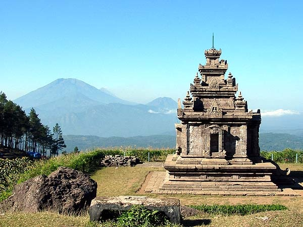 Candi Sukuh, Solo, another well-known city in Central Java.