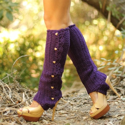 Knitting Pattern For Stirrup Leg Warmers : 17 Best images about Leg Warmers on Pinterest Short legs, Boots and Knits