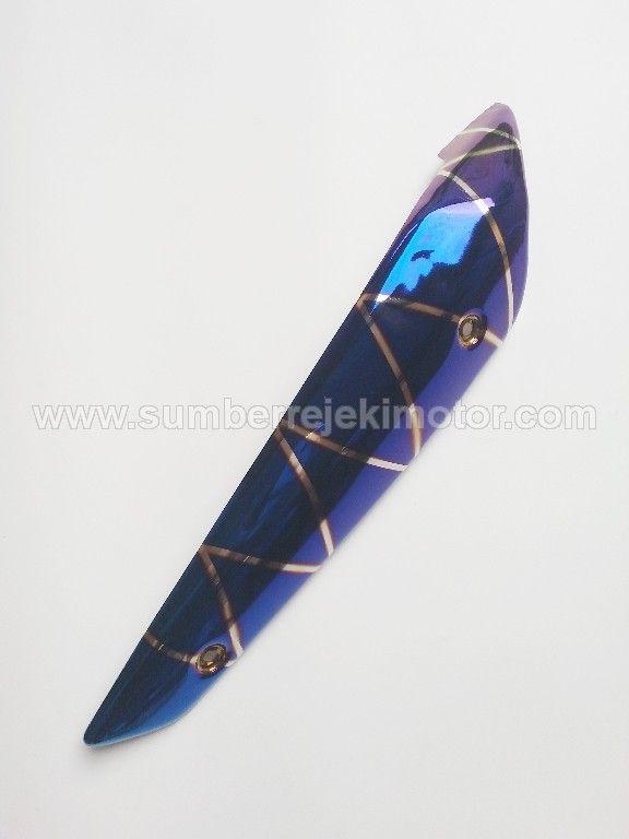 Cover Knalpot N Max Blue Line