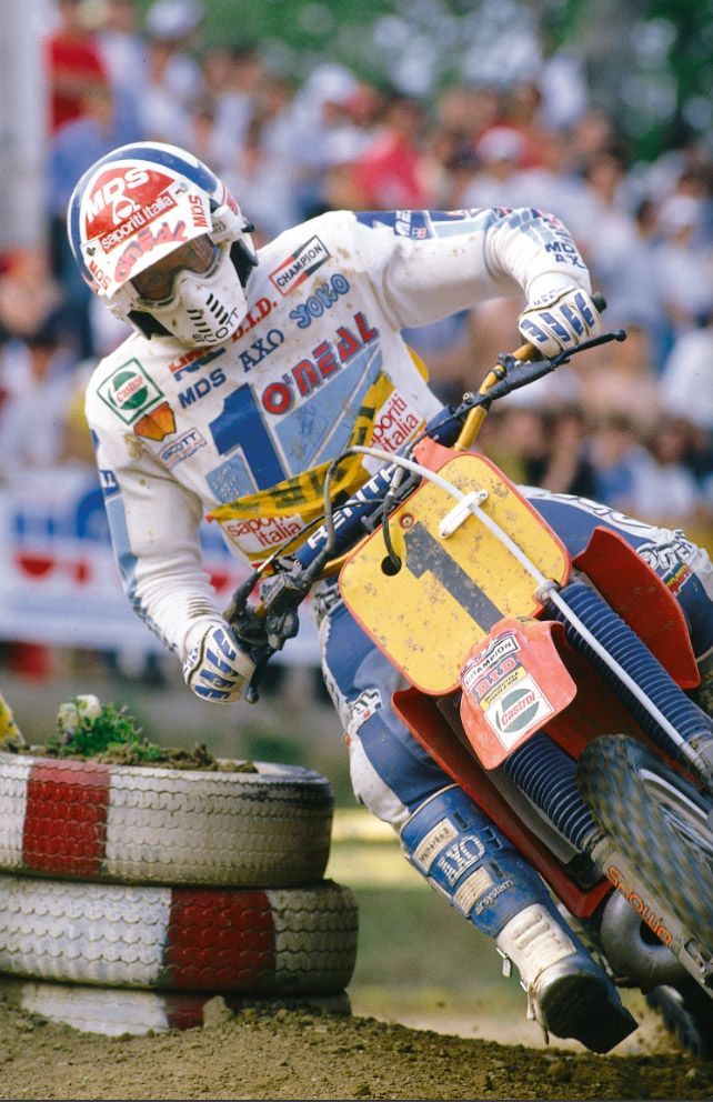 1985 Honda RC500M André Malherbe