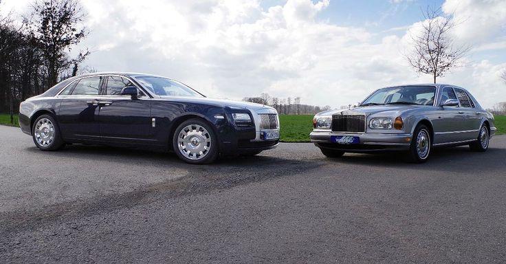 Rolls Royce: Silver Seraph trifft Ghost: Prunk trifft Protz: Diese Nobel-Hobel brauchen 12 Zylinder - Rolls Royce: Silver Seraph trifft Ghost