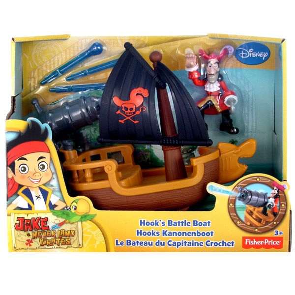 Jake és Sohaország kalózai: Hook kapitány kalózhajója