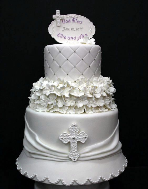 Images Of Cake For Christening : baptism cakes FANCY CAKES... Pinterest Baptism Cakes ...