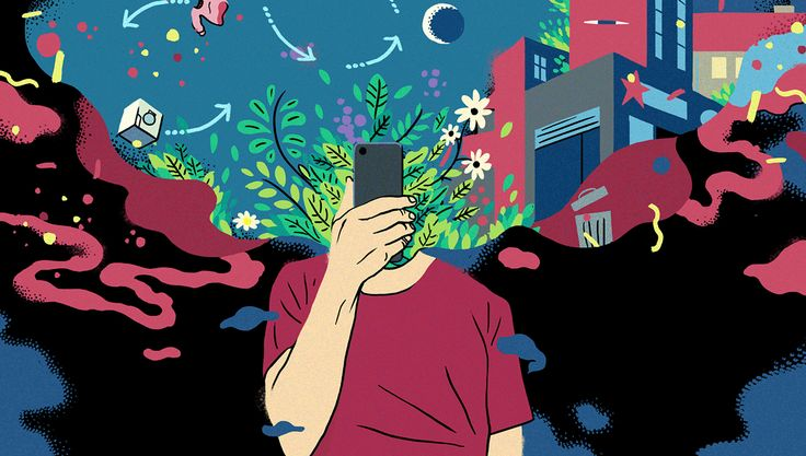 GIF illustration for online newspaper ZETLAND for an article about apps that have the potential to make the world a better place #bennybox #gif #illustration #zetland #drawing