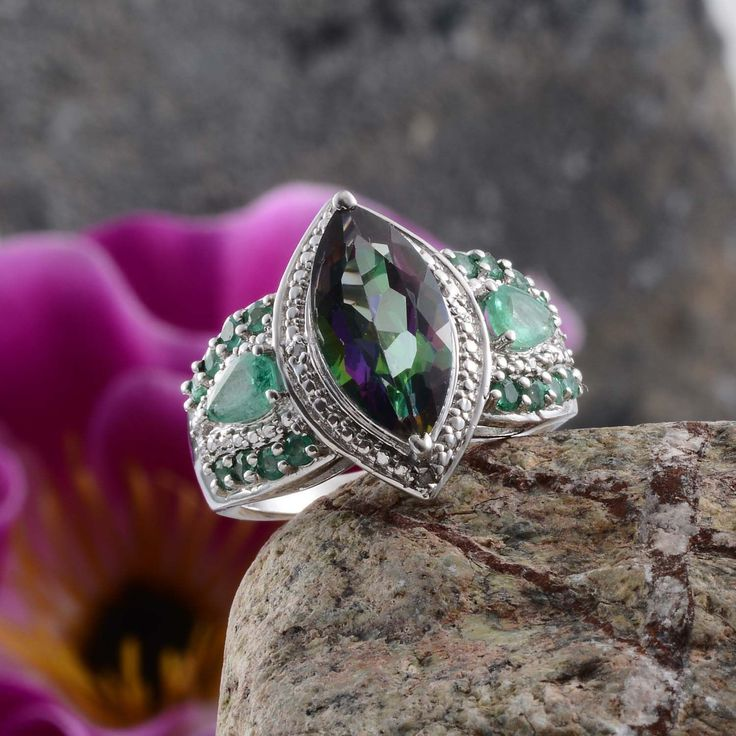 45 Best Mystic Topaz Jewelry Images On Pinterest Mystic