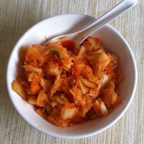 Koreai kimchi káposzta