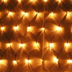 ALEKO® EL-N150BB 150 LED Warm White Net Mesh Fairy String Light.