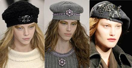 зимние шапки 2011